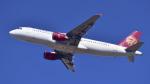 パンダさんが、成田国際空港で撮影した吉祥航空 A320-214の航空フォト(飛行機 写真・画像)