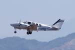 yabyanさんが、名古屋飛行場で撮影した学校法人ヒラタ学園 航空事業本部 Baron G58の航空フォト(飛行機 写真・画像)