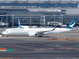 FT51ANさんが、羽田空港で撮影したキャセイパシフィック航空 A350-1041の航空フォト(飛行機 写真・画像)