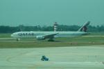 FRTさんが、タンソンニャット国際空港で撮影したカタール航空 777-3DZ/ERの航空フォト(飛行機 写真・画像)