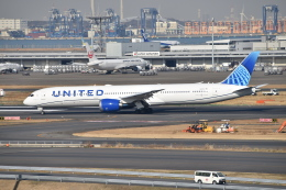 turenoアカクロさんが、羽田空港で撮影したユナイテッド航空 787-10の航空フォト(飛行機 写真・画像)