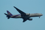FRTさんが、スワンナプーム国際空港で撮影したタイ国際航空 777-2D7/ERの航空フォト(飛行機 写真・画像)
