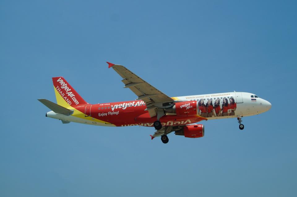 FRTさんのタイ・ベトジェットエア Airbus A320 (HS-VKA) 航空フォト