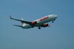 FRTさんが、プーケット国際空港で撮影したタイ・ライオン・エア 737-9GP/ERの航空フォト(飛行機 写真・画像)