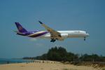 FRTさんが、プーケット国際空港で撮影したタイ国際航空 A350-941の航空フォト(飛行機 写真・画像)