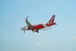 FRTさんが、プーケット国際空港で撮影したタイ・エアアジア A320-216の航空フォト(飛行機 写真・画像)