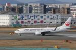 Gpapaさんが、福岡空港で撮影した日本トランスオーシャン航空 737-8Q3の航空フォト(飛行機 写真・画像)