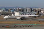 Gpapaさんが、福岡空港で撮影したシンガポール航空 787-10の航空フォト(飛行機 写真・画像)