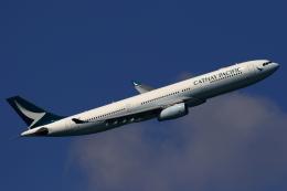 こだしさんが、羽田空港で撮影したキャセイパシフィック航空 A330-343Xの航空フォト(飛行機 写真・画像)