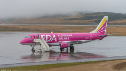 RZ Makiseさんが、種子島空港で撮影したフジドリームエアラインズ ERJ-170-200 (ERJ-175STD)の航空フォト(飛行機 写真・画像)