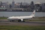KAZFLYERさんが、羽田空港で撮影したアル・マスリア・ユニバーサル航空 A330-203の航空フォト(飛行機 写真・画像)