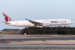 成田国際空港 - Narita International Airport [NRT/RJAA]で撮影されたカタール航空 - Qatar Airways [QR/QTR]の航空機写真