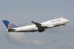 NIKEさんが、シドニー国際空港で撮影したユナイテッド航空 747-422の航空フォト(飛行機 写真・画像)