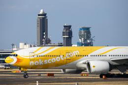 SGR RT 改さんが、成田国際空港で撮影したノックスクート 777-212/ERの航空フォト(飛行機 写真・画像)