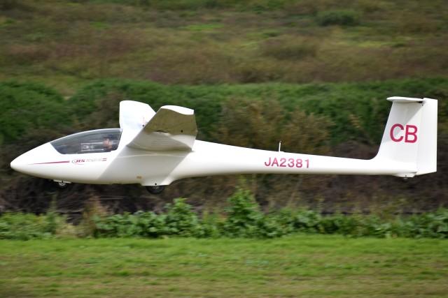 とびたさんが、宝珠花滑空場で撮影した日本個人所有 ASK 23Bの航空フォト(飛行機 写真・画像)