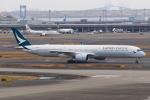 やつはしさんが、羽田空港で撮影したキャセイパシフィック航空 A350-1041の航空フォト(飛行機 写真・画像)