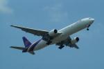 FRTさんが、スワンナプーム国際空港で撮影したタイ国際航空 777-3D7の航空フォト(飛行機 写真・画像)