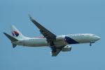 FRTさんが、スワンナプーム国際空港で撮影したマレーシア航空 737-8H6の航空フォト(飛行機 写真・画像)