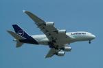 FRTさんが、スワンナプーム国際空港で撮影したルフトハンザドイツ航空 A380-841の航空フォト(飛行機 写真・画像)
