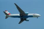 FRTさんが、スワンナプーム国際空港で撮影したオーストリア航空 777-2Z9/ERの航空フォト(飛行機 写真・画像)