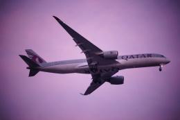 FRTさんが、スワンナプーム国際空港で撮影したカタール航空 A350-941の航空フォト(飛行機 写真・画像)
