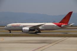 天王寺王子さんが、関西国際空港で撮影したエア・インディア 787-8 Dreamlinerの航空フォト(飛行機 写真・画像)