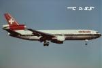 tassさんが、成田国際空港で撮影したスイス航空 DC-10-30の航空フォト(飛行機 写真・画像)