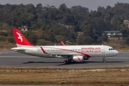 こーいちさんが、トリブバン国際空港で撮影したエア・アラビア A320-214の航空フォト(飛行機 写真・画像)