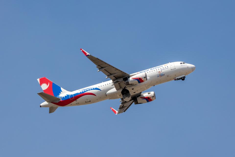 こーいちさんのネパール航空 Airbus A320 (9N-AKW) 航空フォト