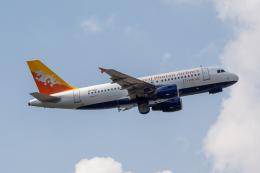 こーいちさんが、トリブバン国際空港で撮影したドゥルク航空 A319-115の航空フォト(飛行機 写真・画像)