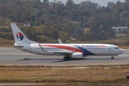 こーいちさんが、トリブバン国際空港で撮影したマレーシア航空 737-8H6の航空フォト(飛行機 写真・画像)