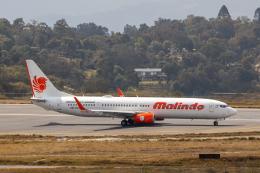 こーいちさんが、トリブバン国際空港で撮影したマリンド・エア 737-9GP/ERの航空フォト(飛行機 写真・画像)