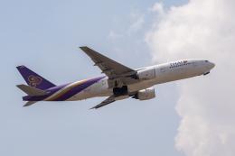 こーいちさんが、トリブバン国際空港で撮影したタイ国際航空 777-2D7/ERの航空フォト(飛行機 写真・画像)
