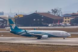 こーいちさんが、トリブバン国際空港で撮影したオマーン航空 737-8FZの航空フォト(飛行機 写真・画像)