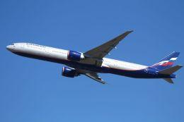tomoMTさんが、成田国際空港で撮影したアエロフロート・ロシア航空 777-3M0/ERの航空フォト(飛行機 写真・画像)