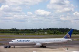 Kaaazさんが、成田国際空港で撮影したコンチネンタル航空 767-424/ERの航空フォト(飛行機 写真・画像)