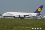 tassさんが、成田国際空港で撮影したルフトハンザドイツ航空 A380-841の航空フォト(飛行機 写真・画像)