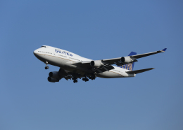銀苺さんが、成田国際空港で撮影したユナイテッド航空 747-451の航空フォト(飛行機 写真・画像)