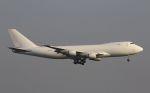 hiroki_h2さんが、香港国際空港で撮影したカリッタ エア 747-4B5F/SCDの航空フォト(飛行機 写真・画像)