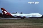 tassさんが、成田国際空港で撮影したカンタス航空 747-238Bの航空フォト(飛行機 写真・画像)