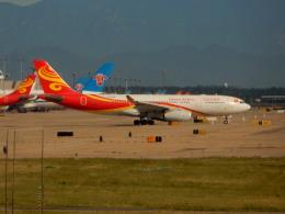kiyohsさんが、北京首都国際空港で撮影した海南航空 A330-243の航空フォト(飛行機 写真・画像)