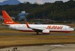 あしゅーさんが、福岡空港で撮影したチェジュ航空 737-8FHの航空フォト(飛行機 写真・画像)