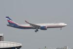 kuro2059さんが、香港国際空港で撮影したアエロフロート・ロシア航空 A330-343Xの航空フォト(飛行機 写真・画像)