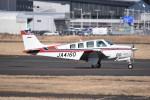 kumagorouさんが、仙台空港で撮影した航空大学校 A36 Bonanza 36の航空フォト(飛行機 写真・画像)