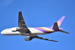 かたつむりくんさんが、仙台空港で撮影したタイ国際航空 777-2D7の航空フォト(飛行機 写真・画像)