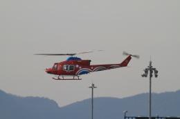 TAK_HND_NRTさんが、高松空港で撮影した岡山県消防防災航空隊 412EPの航空フォト(飛行機 写真・画像)