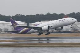 Sharp Fukudaさんが、成田国際空港で撮影したタイ国際航空 777-2D7/ERの航空フォト(飛行機 写真・画像)