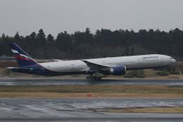 Sharp Fukudaさんが、成田国際空港で撮影したアエロフロート・ロシア航空 777-3M0/ERの航空フォト(飛行機 写真・画像)