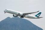 だいすけさんが、香港国際空港で撮影したキャセイパシフィック航空 A350-941XWBの航空フォト(飛行機 写真・画像)
