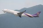 だいすけさんが、香港国際空港で撮影したタイ国際航空 A330-343Xの航空フォト(飛行機 写真・画像)